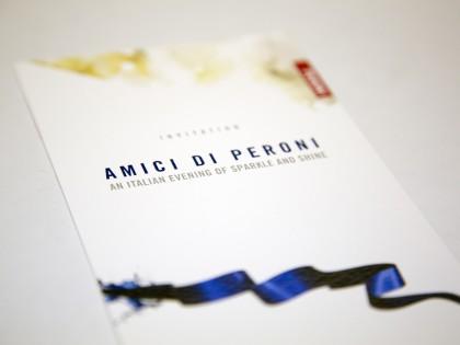 Design And Print Event Invitations – Peroni Amici Event