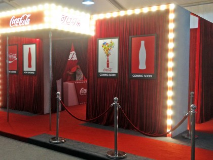 China Branding – Comic Con Coca Cola Booth