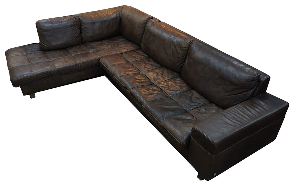 Sectional Reclining Sofas Leather Distressed leather sofa