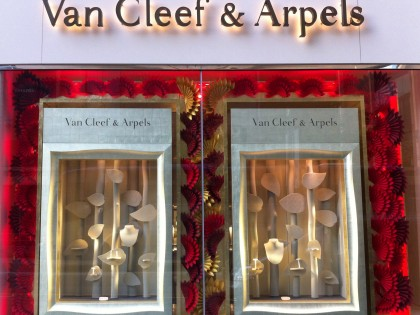 Van Cleef & Arpels Window Display, Central